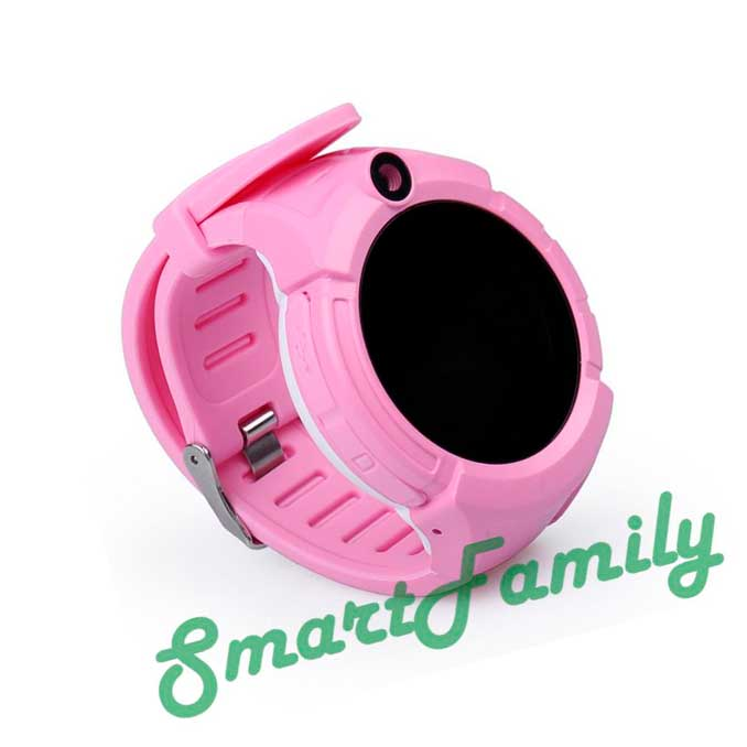 Часы трекер для детей Q360 розовые