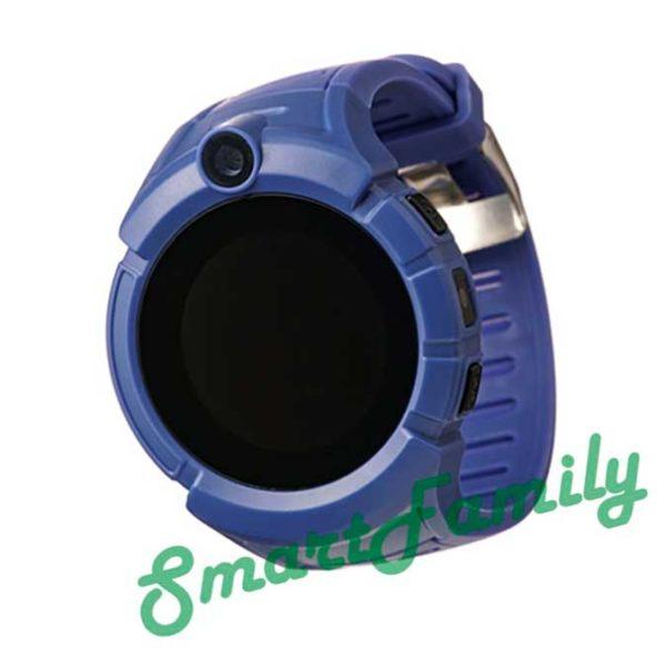 Часы трекер для детей Q360 синие