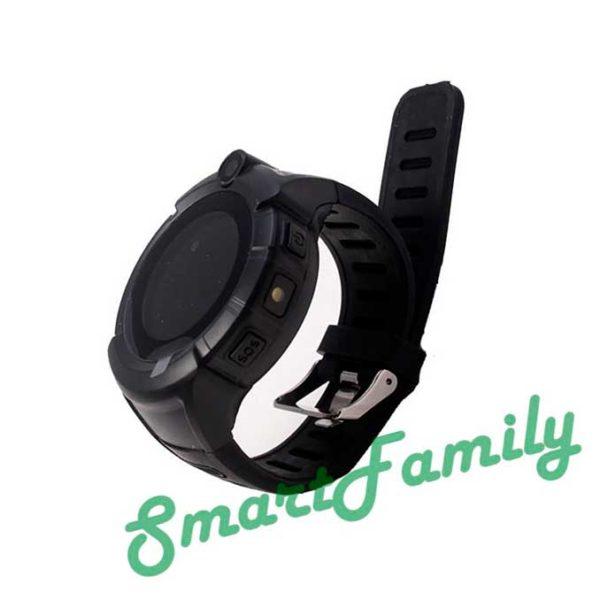 Детские часы с gps трекером Q360 черные