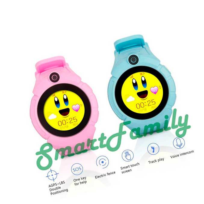 Детские часы с gps трекером Q360 функции