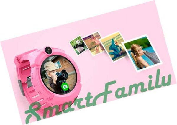 детские часы трекер Q360 с камерой