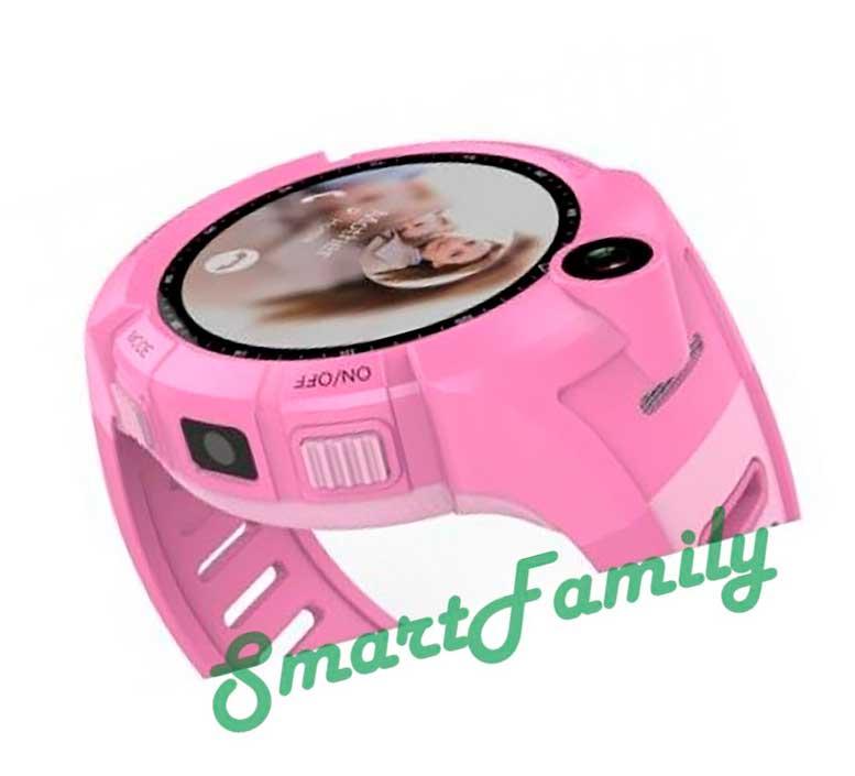 детские часы трекер Q360