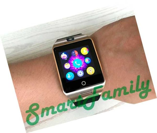 Smart-Watch-Q18S-Brown