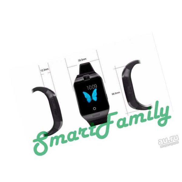 часы smart watch Q18s размеры
