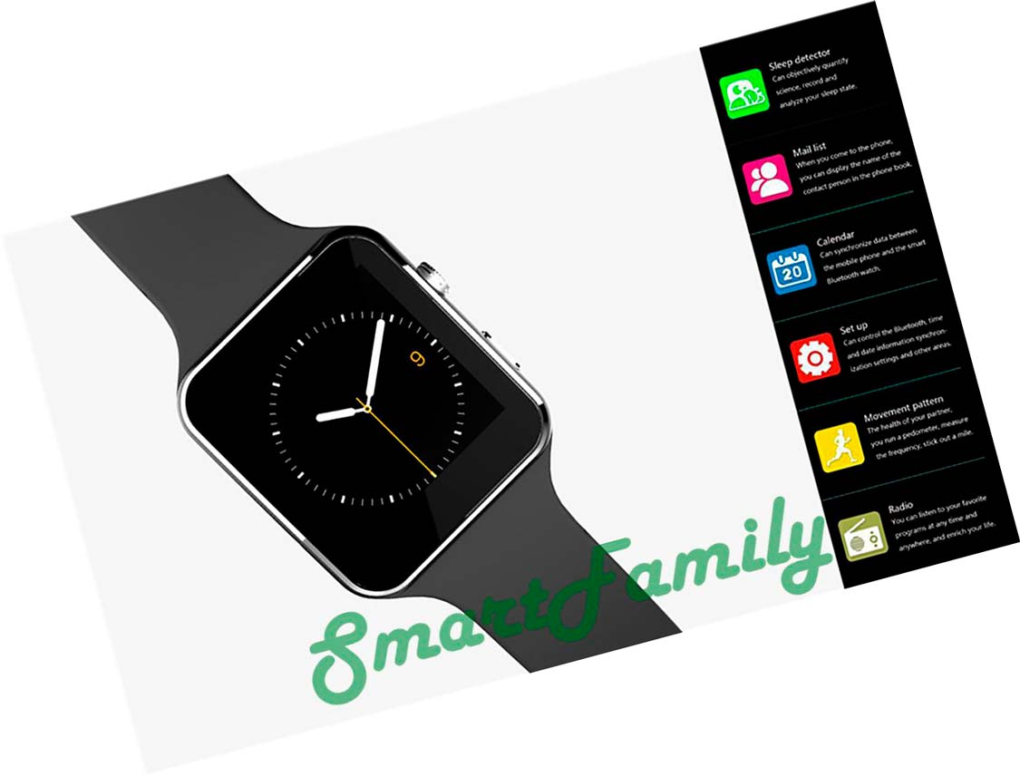 часы-smart-watch-x6-функции