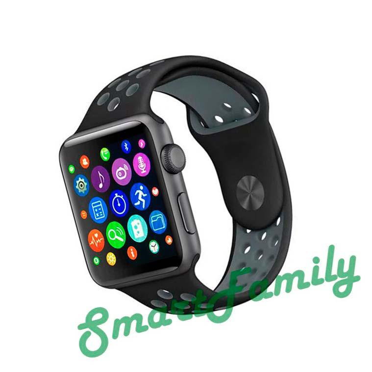 часы IWO 4 меню в стиле apple