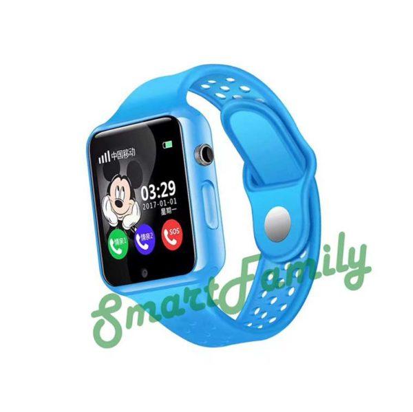 Smart baby watch G98 голубые