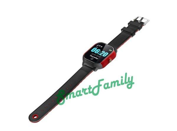 детские часы FA23 черно-красные