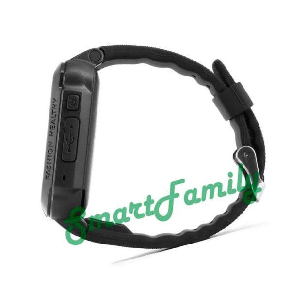 детские часы трекер K3 черные