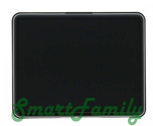 rfid кошелек черный сзади