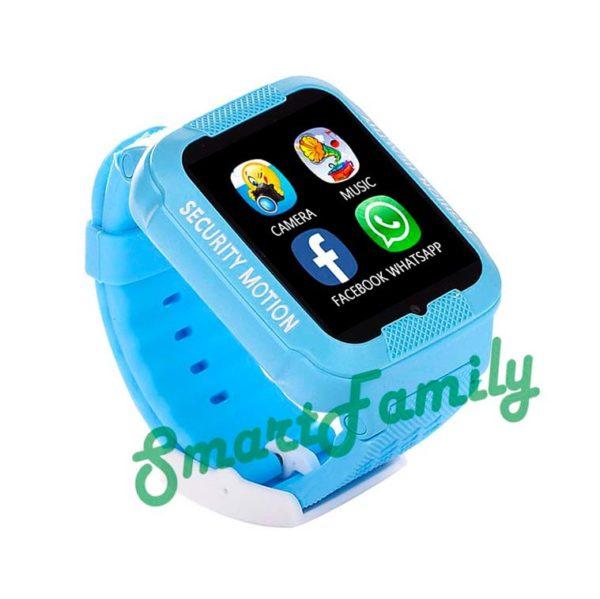 smart baby watch K3 голубые