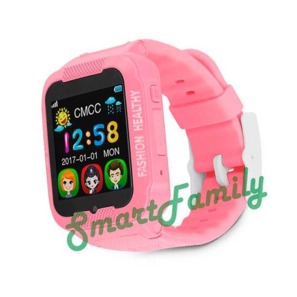 smart baby watch K3 розовые