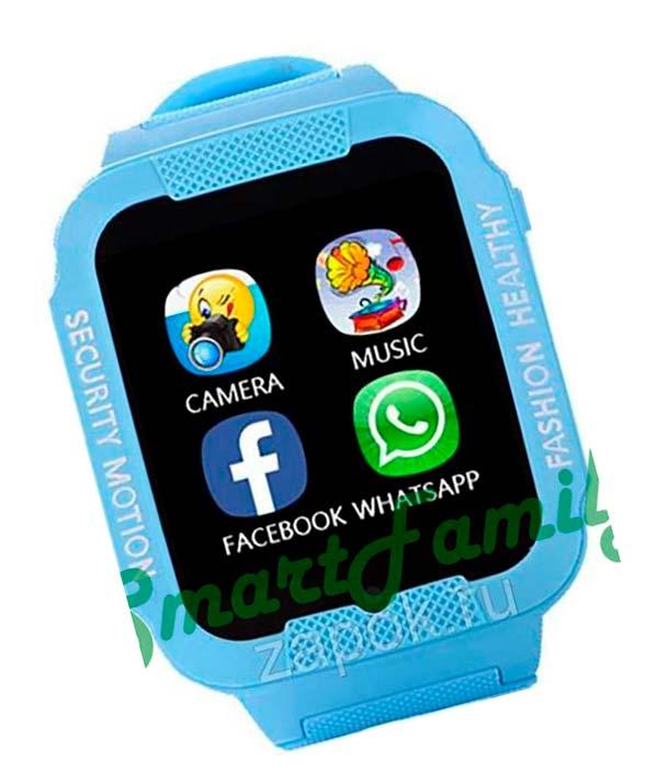 smart watch K3 голубые