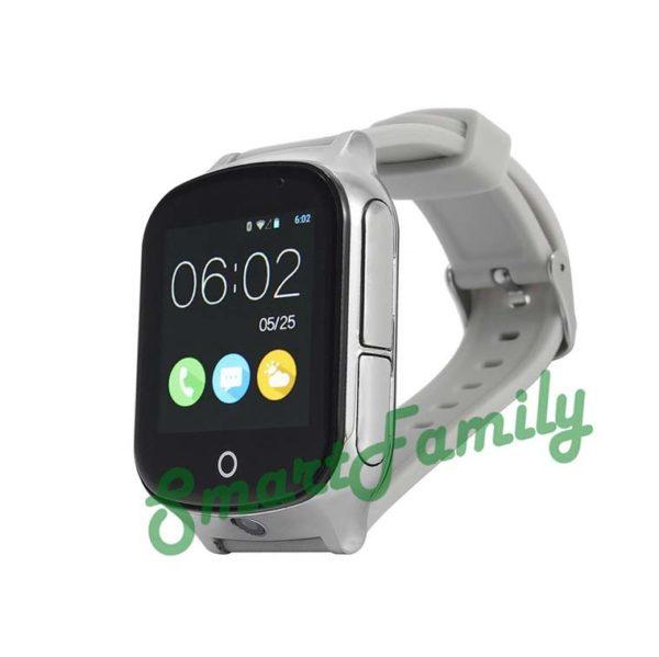 smart watch T100 серебристые