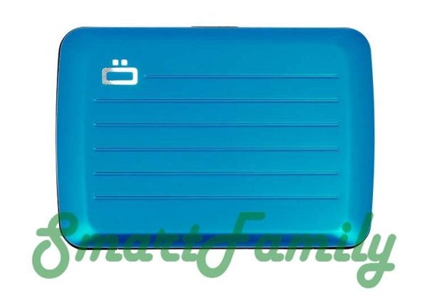 Stockholm V2 кошелек для карт голубой 1