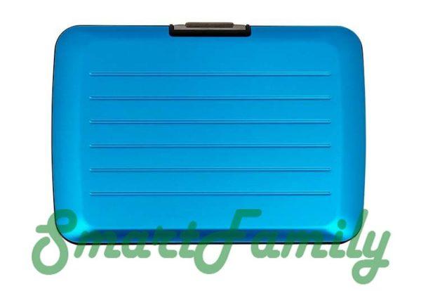 Stockholm V2 кошелек для карт голубой 3