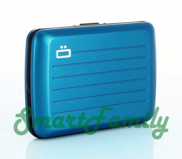 Stockholm V2 кошелек для карт голубой