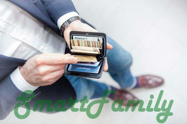 Stockholm V2 кошелек для карт с rfid открыт