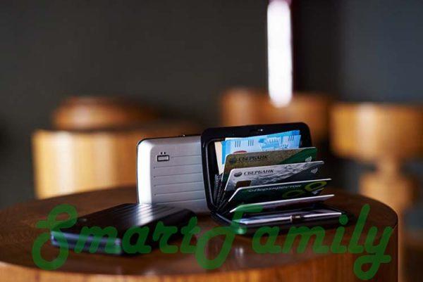 Стокгольм В2 кошелек для карт с rfid