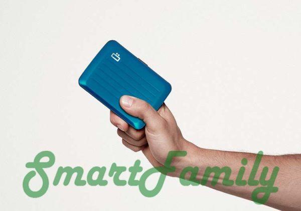 Стокгольм В2 кошелек для карт с rfid в руке