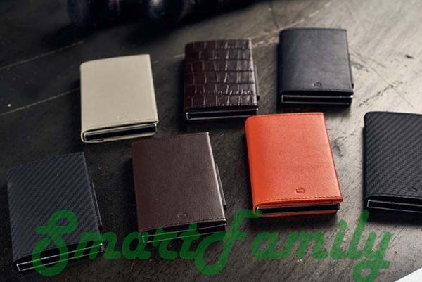 каскадный кошелек для карт цвета