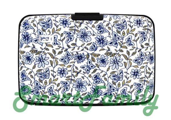кошелек для карт Stockholm цветы 1