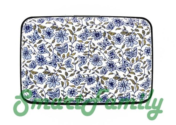 кошелек для карт Stockholm цветы 2