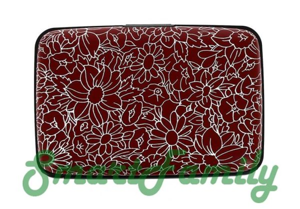 кошелек для карт Стокгольм цветы 2