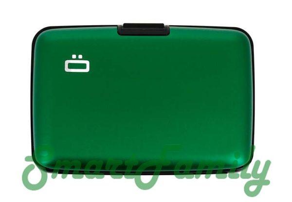 кошелек для карт rfid Стокгольм зеленый 1