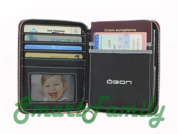кошелек для паспорта OGON открыт