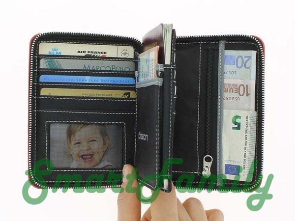 кошелек для паспорта OGON rfid открыт 1