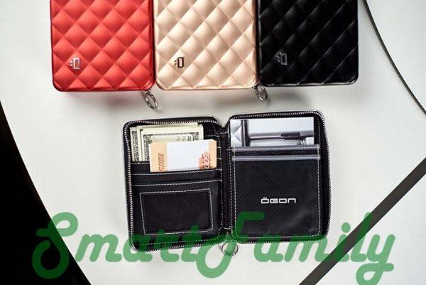 кошелек для паспорта OGON стеганный 2