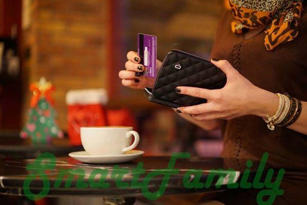кошелек для паспорта стеганный Quilted 4