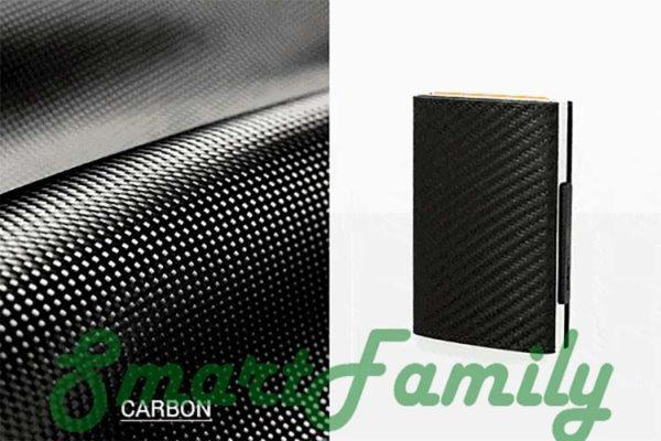 кошелек каскадный rfid карбон