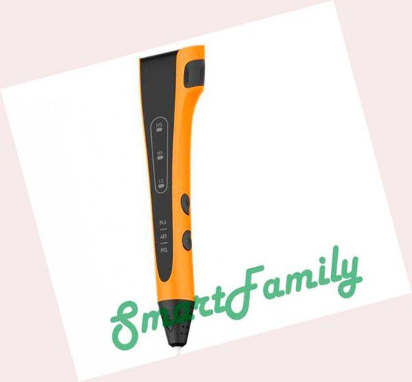 3D ручка P640 оранжевая