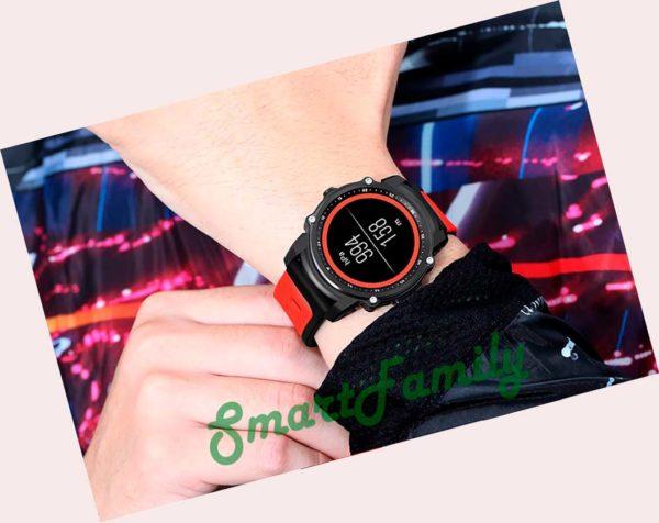 часы fs08 на руке