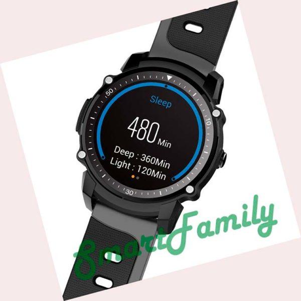 часы kingwear fs08 черные