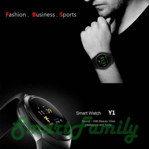 круглые smart watch Y1