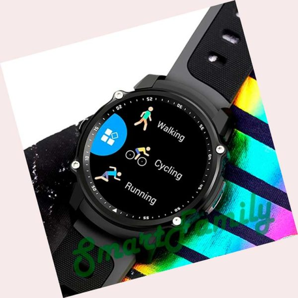 smart watch FS08 радуга