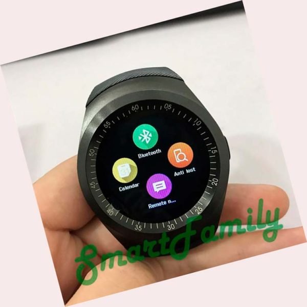 smart watch Y1 меню