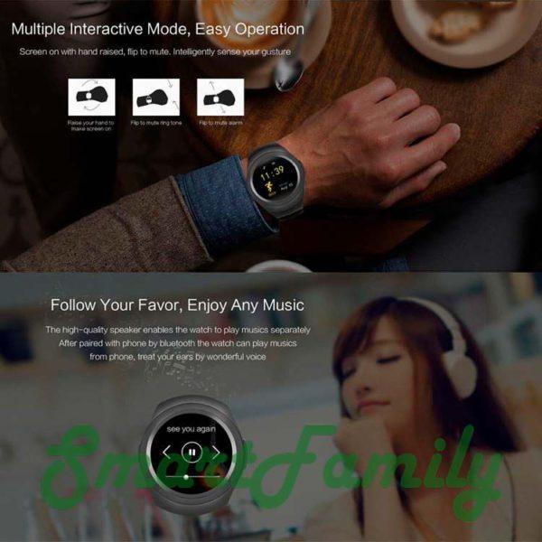 smart watch Y1 музыка