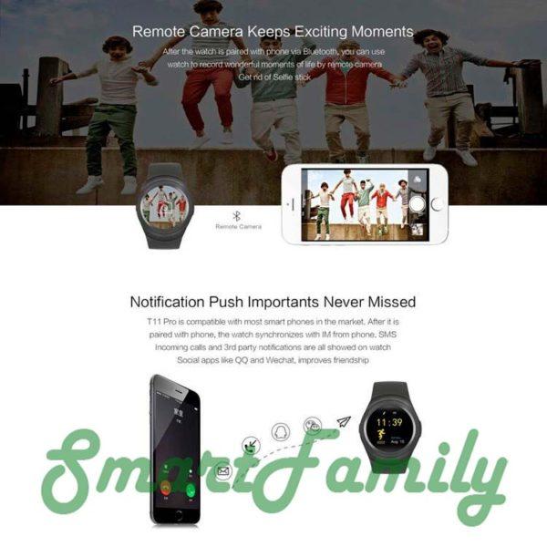smart watch Y1 с уведомлениями