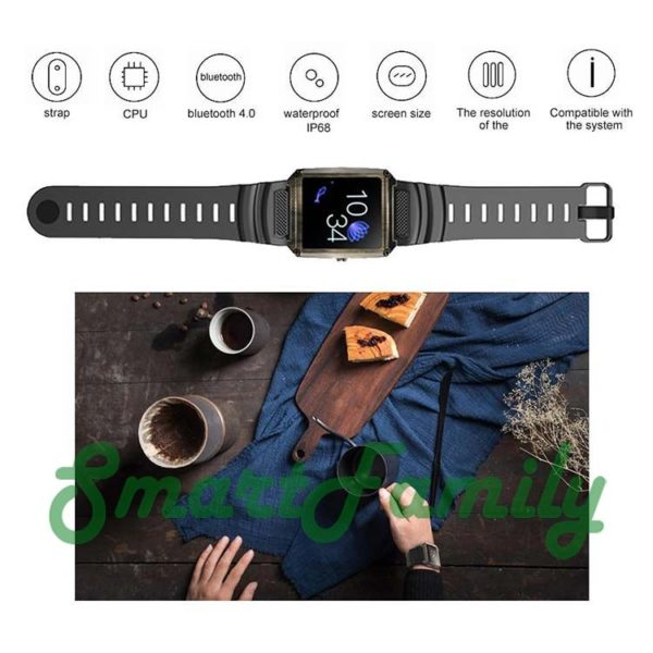 стильные смарт часы KY005