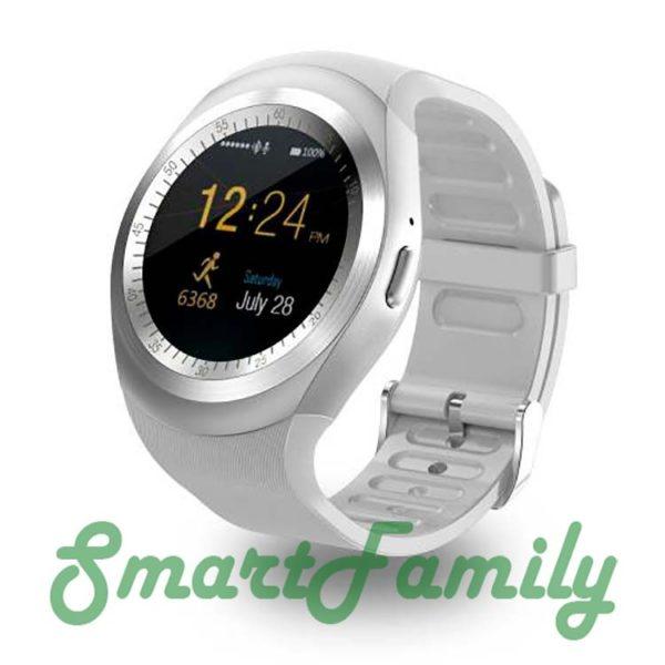 умные часы Y1 белые