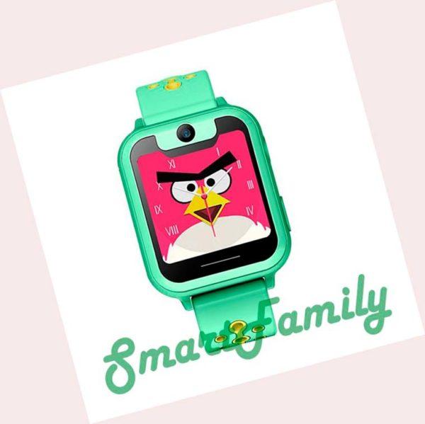 smart часы s6 зеленые