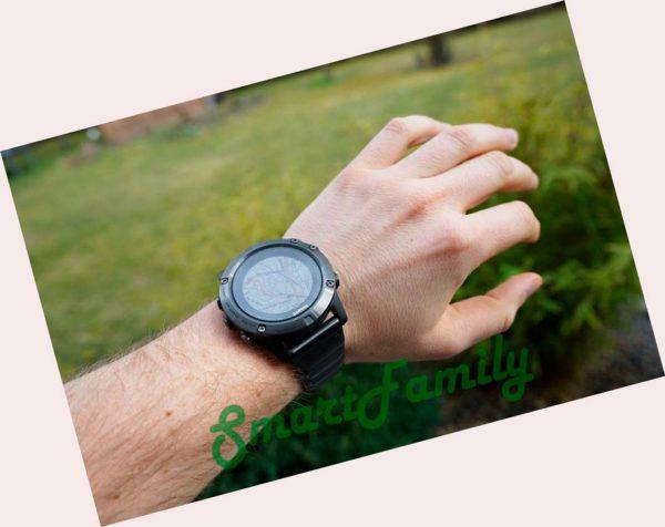 FENIX 5 PLUS SAPPHIRE титановые на руке