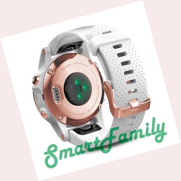Fenix 5s Saphire розовое золото2