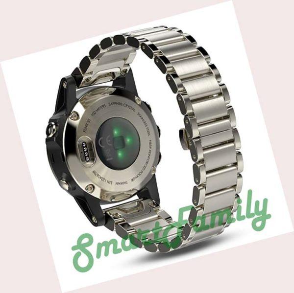 Fenix 5s золотые металл браслет