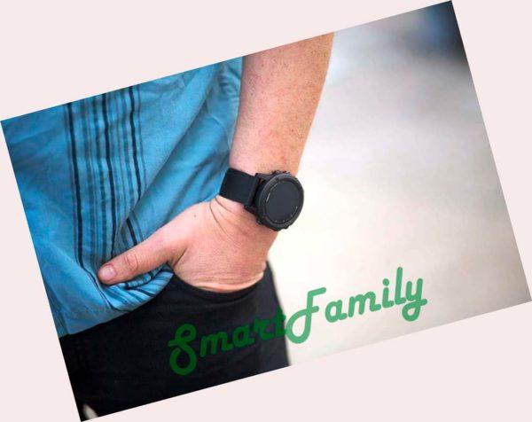 GARMIN FENIX 5 PLUS SAPPHIRE на руке