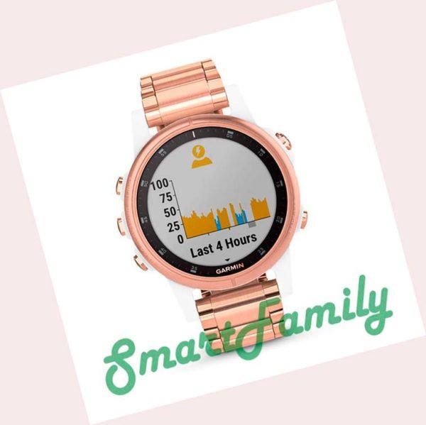 часы FENIX 5S PLUS SAPPHIRE розовое золото